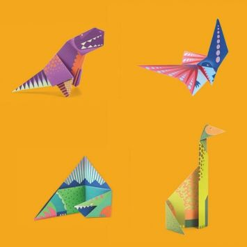 Origami Dinosaurs, a list of online, origami-dinosaur diagrams ... | 355x355